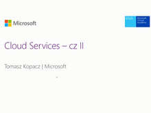Azure – Cloud Services – cz II