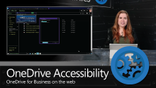 Accessibility updates in OneDrive for Business on the web