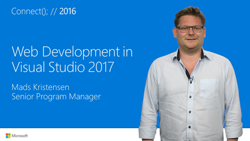 Web Development in Visual Studio 2017