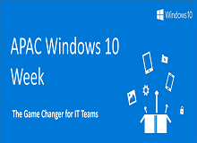 APAC Windows 10 Week 2016