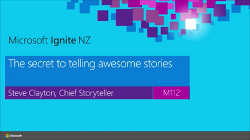 The secret to telling awesome stories – from Microsoft's Chief Storyteller