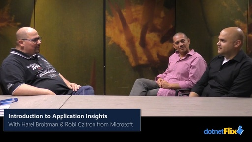 Application Insights with Harel Broitman and Robi Czitron