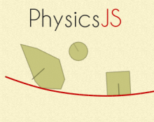 PhysicsJS (Yes, a JavaScript Physics engine)