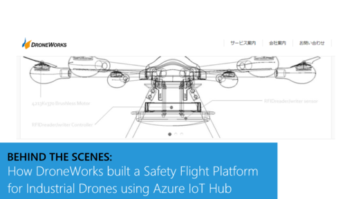 Behind the Scenes: How DroneWorks built a Safety Flight Platform for Industrial Drones using Azure IoT Hub