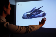 BMW i8 Advertising with the Kinect
