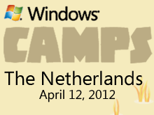 The Netherlands Windows 8 Dev Camp