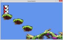 Mix some C#, GLEED2D and Farseer Physics and the desire for a simple game sample...