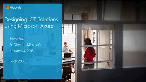Designing IOT Solutions using Microsoft Azure: An Overview
