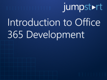 Introduction to Office 365 Development