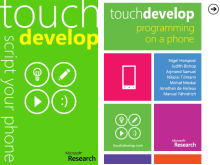 Develop for Windows Phone, with Windows Phone... TouchDevelop
