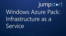 Windows Azure Pack: Infrastructure as a Service