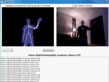 A(nother) Kinect Recognizer