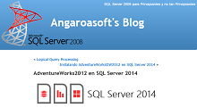 AdventureWorks2012 en SQL Server 2014