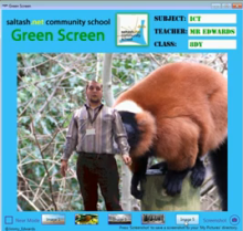 More Green with another Kinect Green Screen project