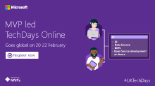 MVP Led Techdays Online February 2017 - Americas