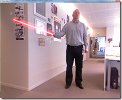 Kinect Sabre Screenshot